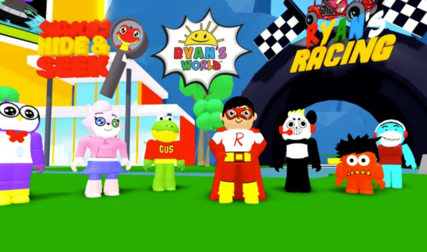 Ryan's World's Latest Brand Expansion Is A Virtual World Within Roblox