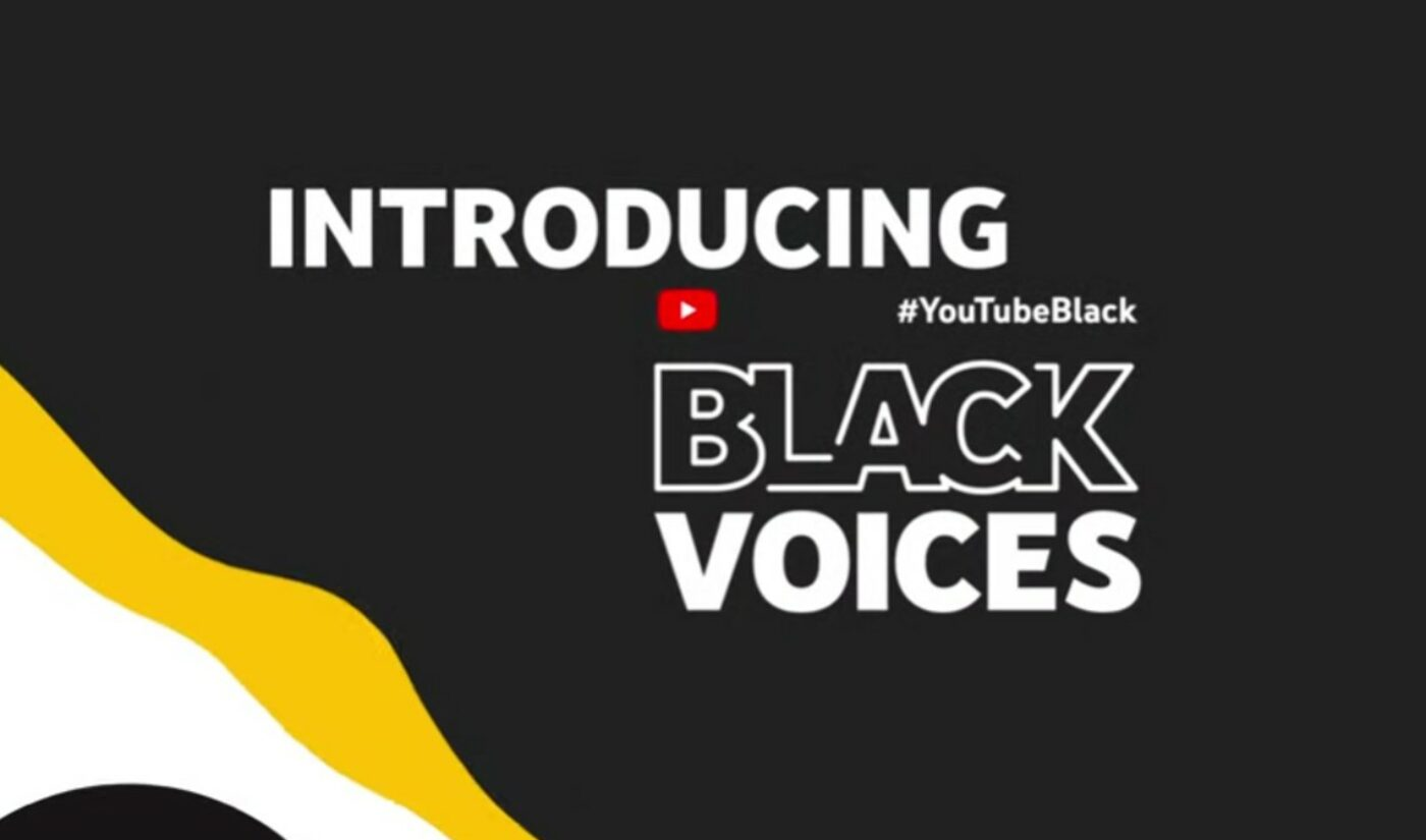 '#YouTubeBlack Voices Grant Program' Unveils Inaugural Class Of 132 Creator Recipients
