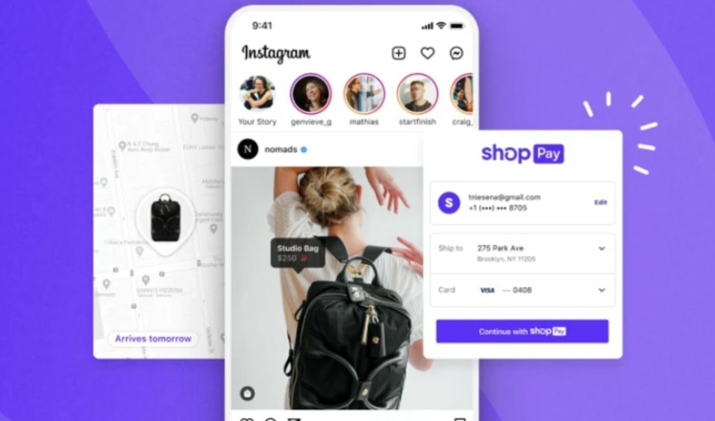 In A First, Shopify To Integrate Checkout Technology Directly Within Facebook And Instagram