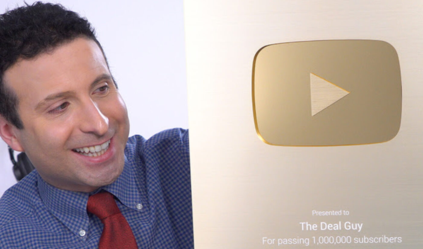 """YouTube Millionaires: The Deal Guy's Channel Is """"An Autobiographical Bargain-Hunting Exposé"""""""