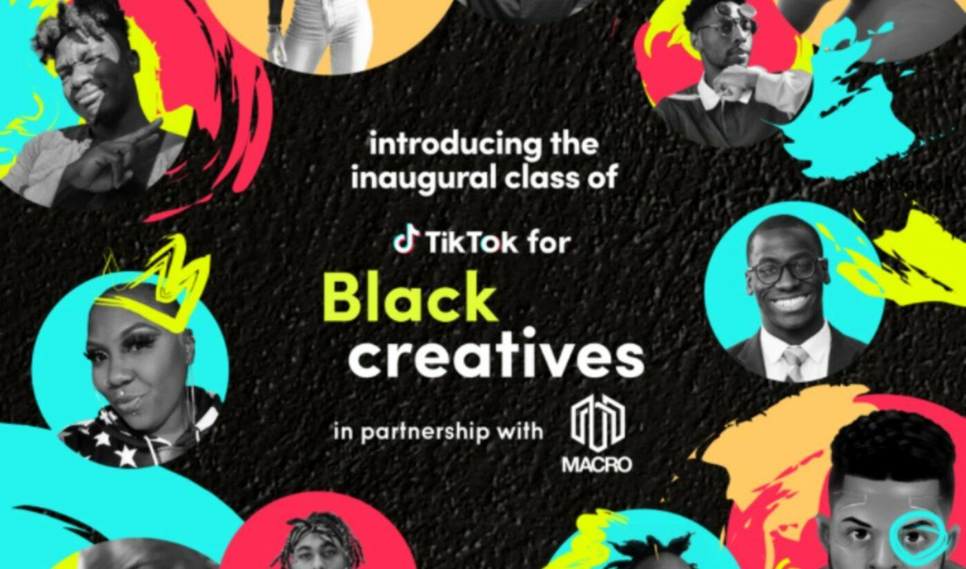 New 'TikTok For Black Creatives' Incubator Unveils Inaugural Class Of 100 Creators