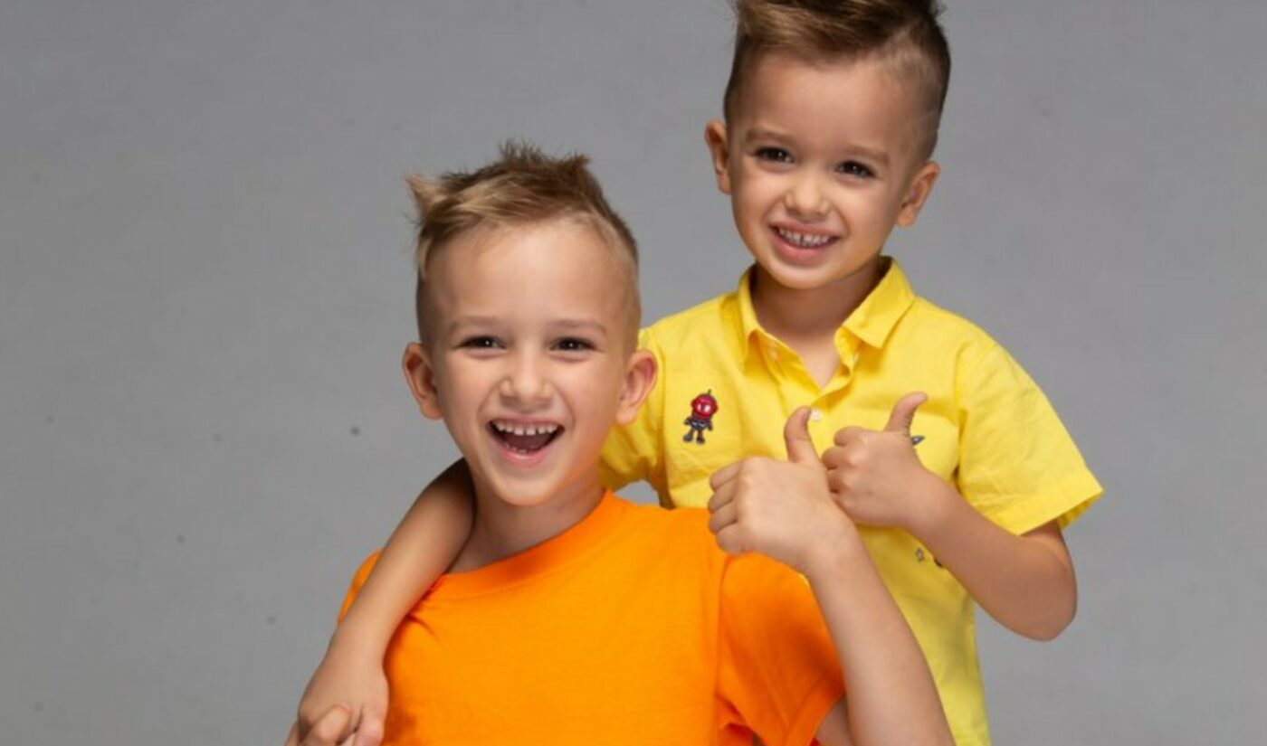 Newly-Formed 'Underscore Talent' Signs Preschool-Aged YouTube Megastars Vlad & Niki