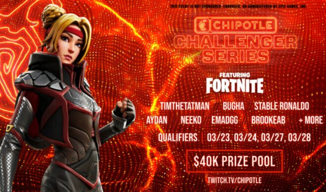 Chipotle Launches Third Annual 'Challenger Series' Fortnite Tournament With TimTheTatMan, BrookeAB, More