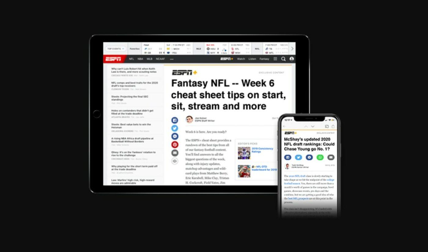 ESPN Lays Off 300 Staffers Amid Resource Shift Toward DTC, Digital Businesses