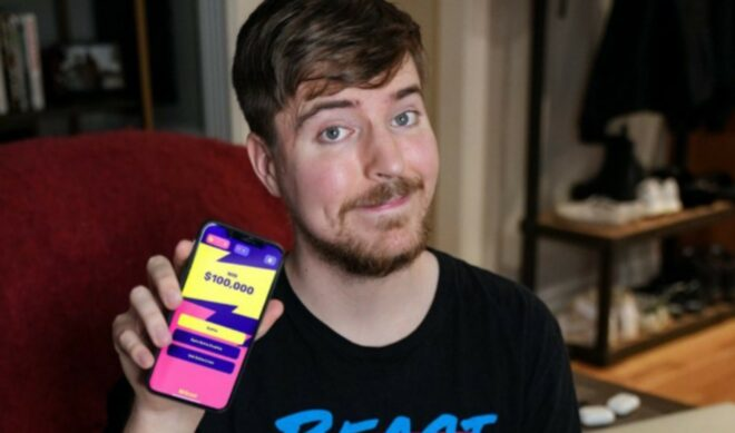 MrBeast To Launch Second 'Finger On The App' Contest On Saturday, With $100,000 Prize