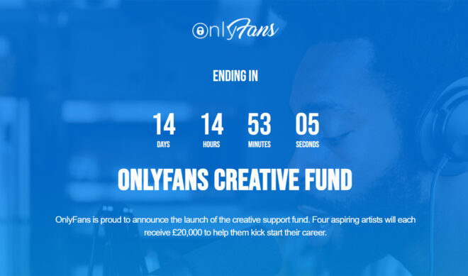 OnlyFans Launches Creative Fund, Will Award $20,000 To 4 U.K. Musicians