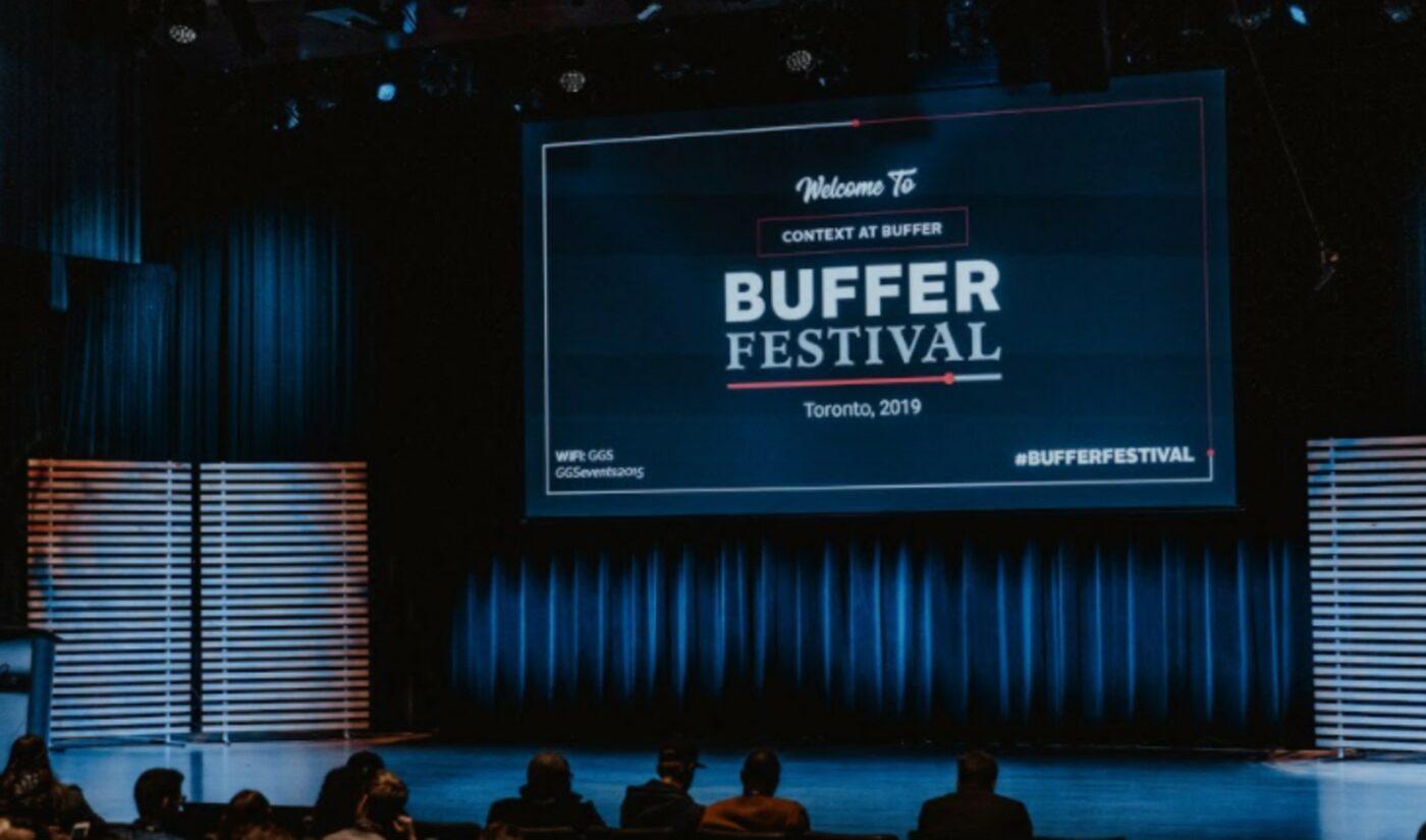 Longtime YouTuber Film Festival 'Buffer' Unveils London Expansion