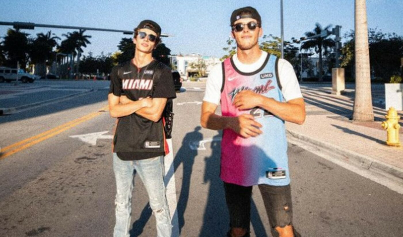 TikTokers Josh Richards And Griffin Johnson Launch Sports Agency 'CrossCheck Sports'