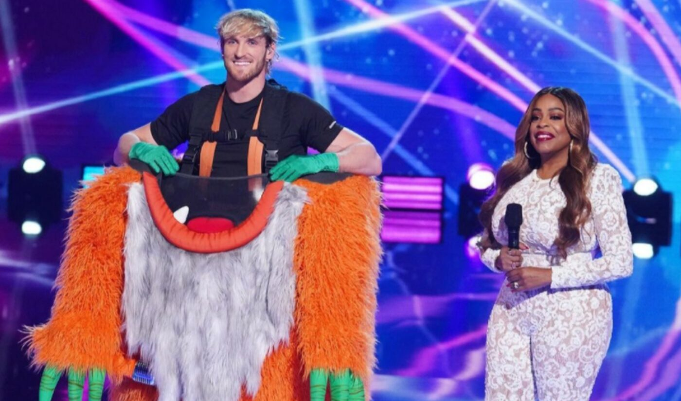 """Logan Paul Eliminated From 'The Masked Singer' Following """"Bad Reputation"""" Performance"""