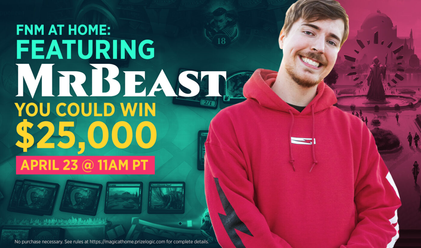 MrBeast To Give Away $50,000 In 'Magic: The Gathering' Partnership