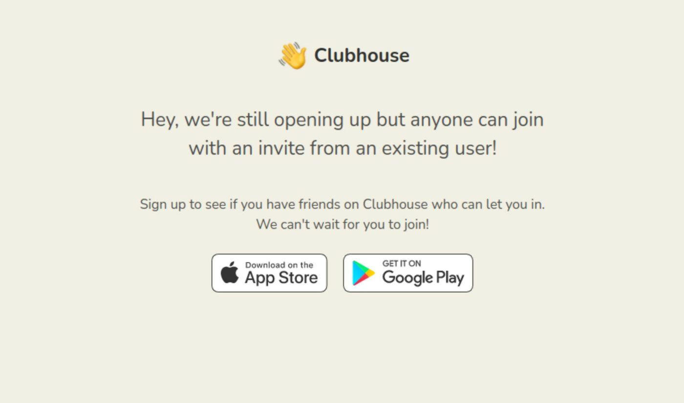 After A Year On iOS, Clubhouse Launches Invite-Only Beta On Android