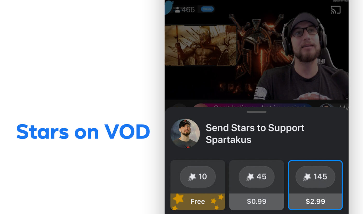 Facebook Gaming Introduces Monetization For Video-On-Demand Creators