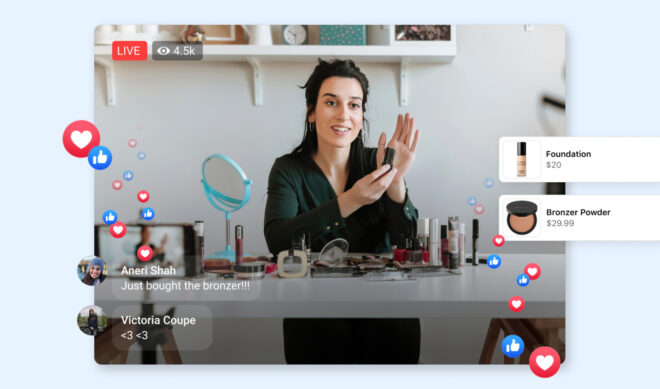 Facebook Launches QVC-Esque Ecommerce Series 'Live Shopping Fridays'