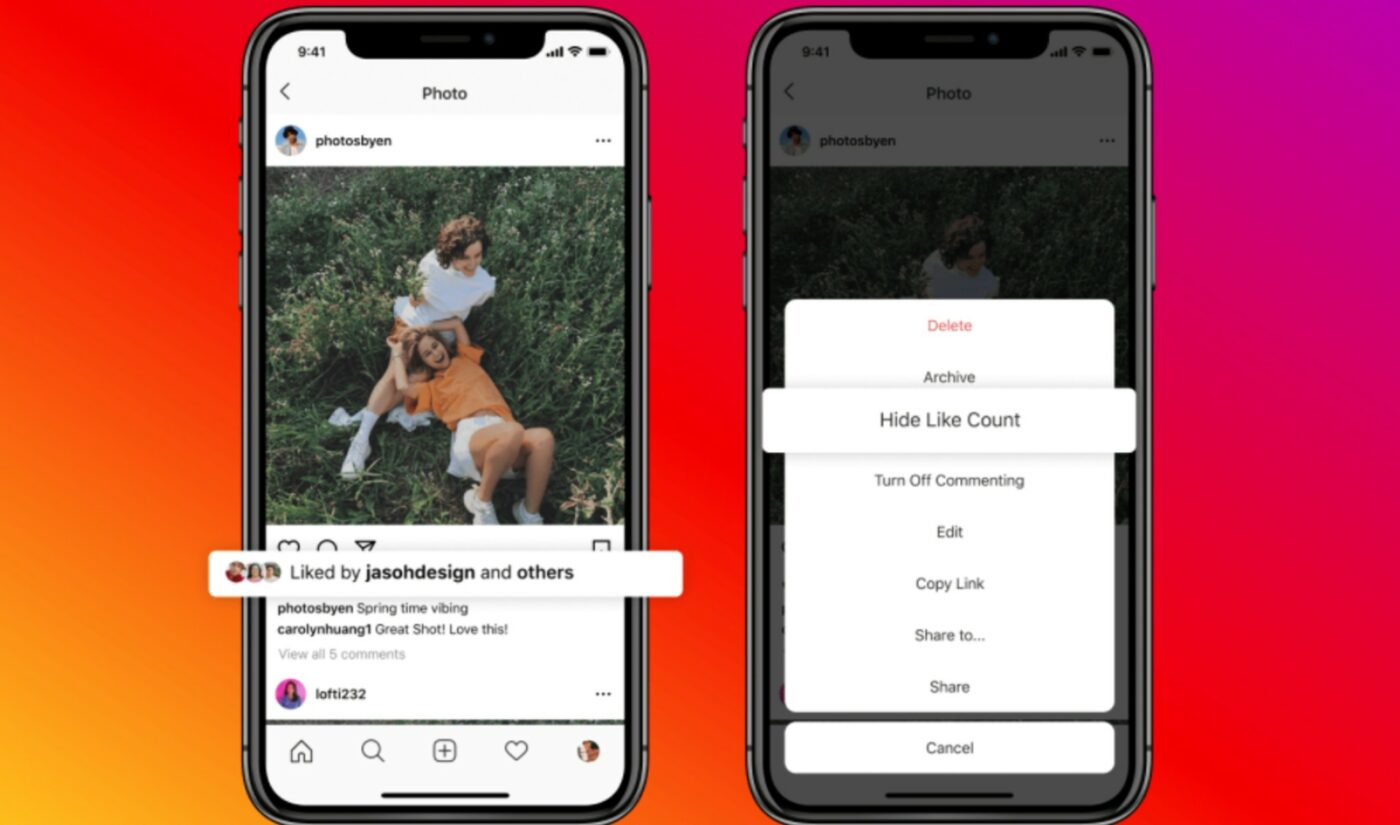 Instagram And Facebook Will Now Enable All Creators, Viewers To Hide Public 'Like' Counts