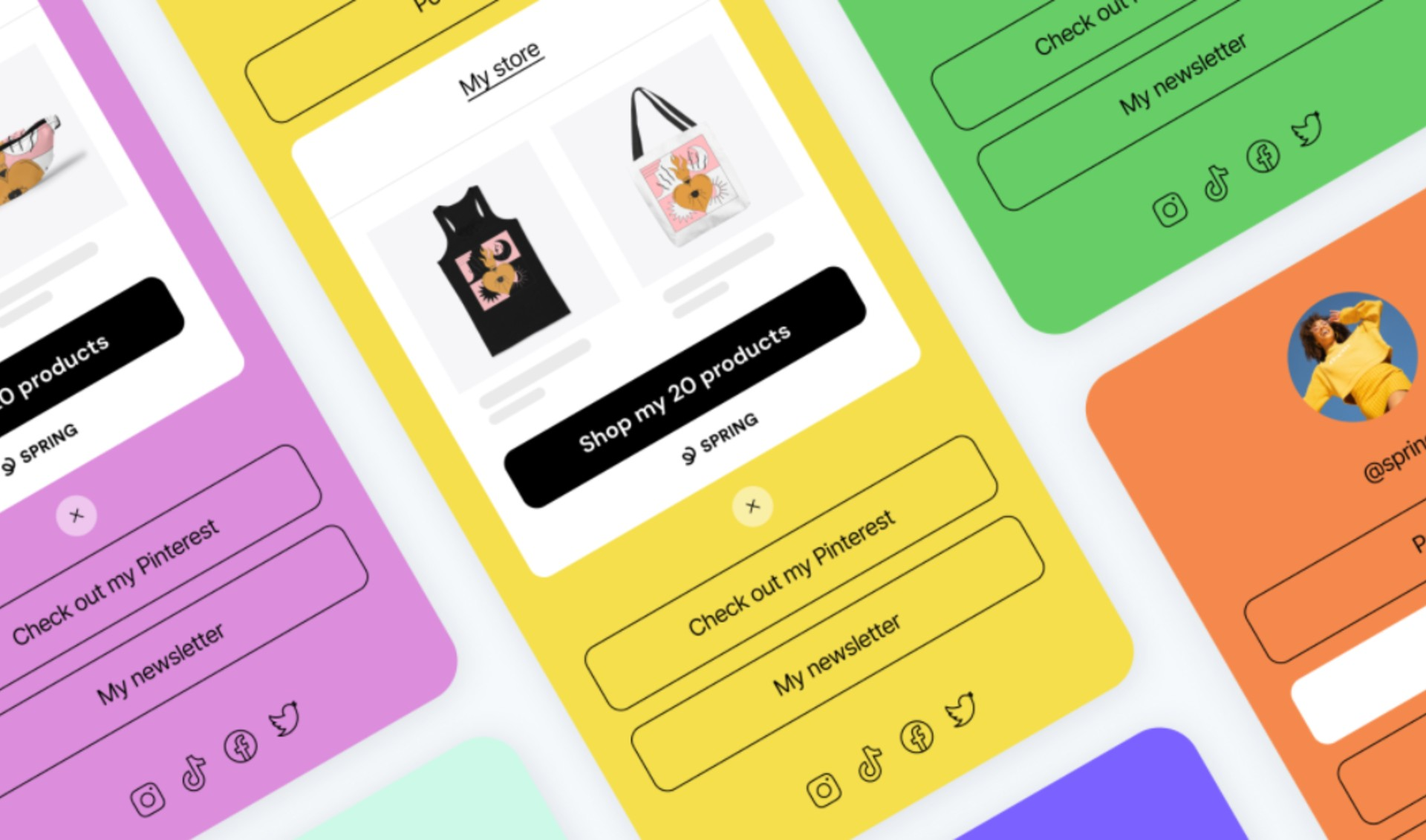 Spring, Linktree Integration Will Enable Creators To Add Ecommerce Stores To Bio Links