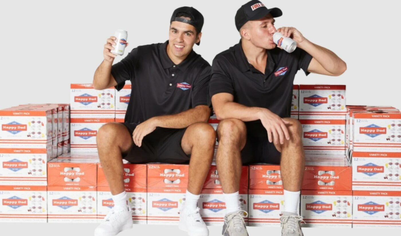 Edgy Prank Channel Nelk Launches 'Happy Dad' Hard Seltzer Brand