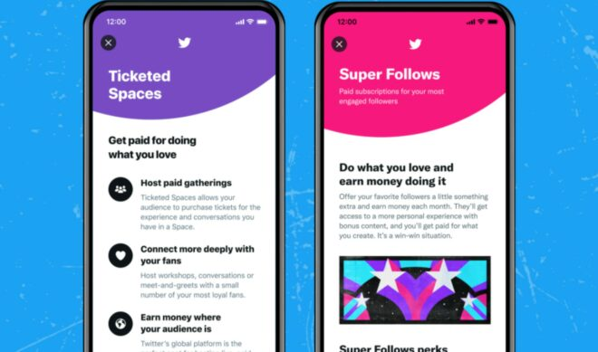 Twitter To Let Creators Keep 97% Of Revenues From Super Follows, Ticketed Spaces — Until They Surpass $50,000
