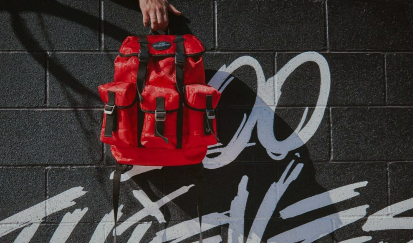 100 Thieves, Gucci Unveil First Piece From Sustainability-Focused Collaboration: A $2,500 Backpack
