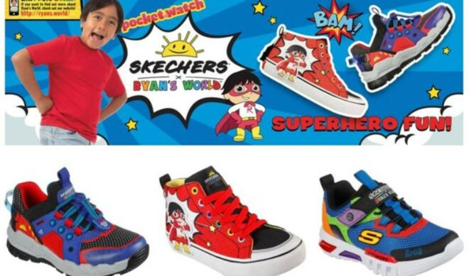 Ryan Kaji Ties Up With Skechers For Limited-Edition Footwear Collaboration
