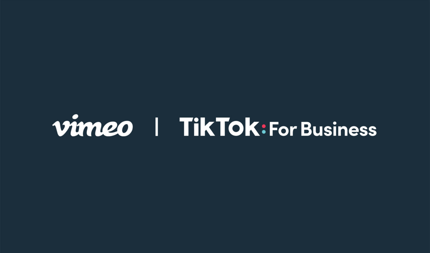 Vimeo, TikTok Partner To Offer Video Ad Creation, Distribution For Small Businesses