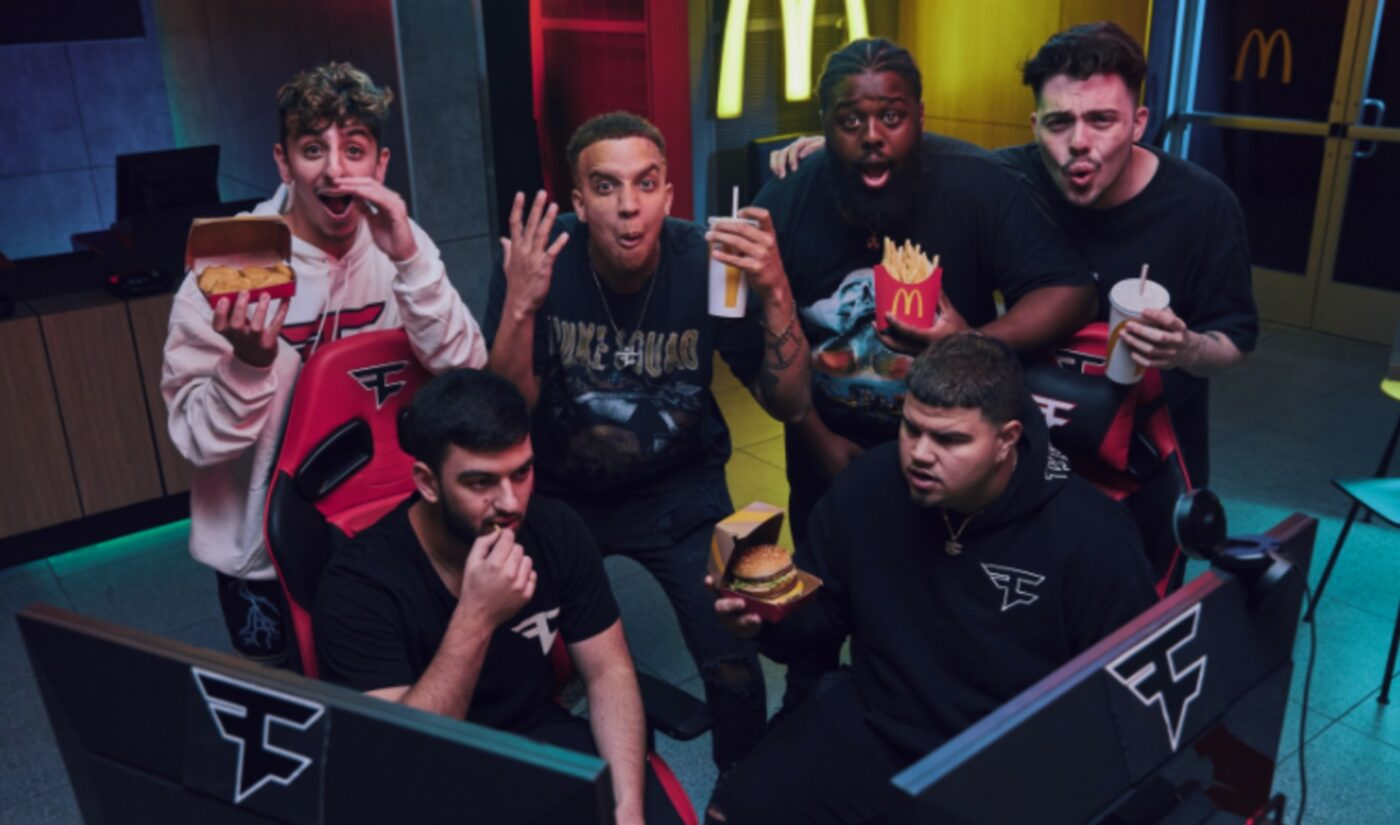 FaZe Clan Inks Long-Term Brand Deal With McDonald's To Highlight Diversity In Gaming