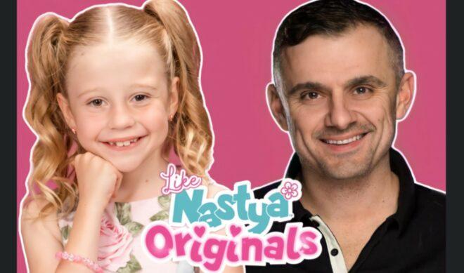 Seven-Year-Old YouTube Megastar 'Like Nastya' Launches NFTs With Gary Vaynerchuk