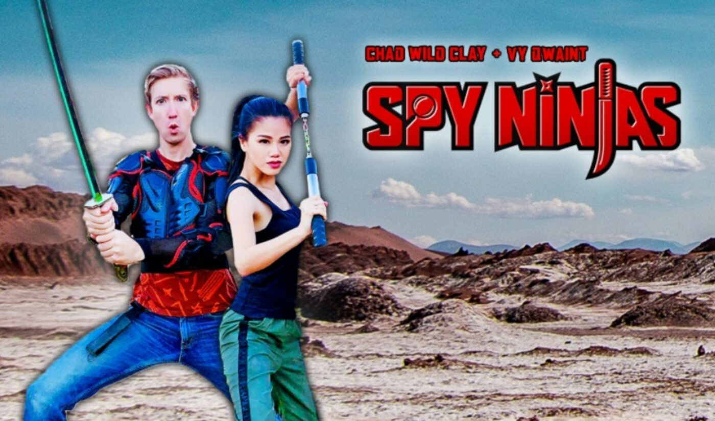 Hit YouTube Franchise 'Spy Ninjas' Inks Three-Year Book Deal With Scholastic