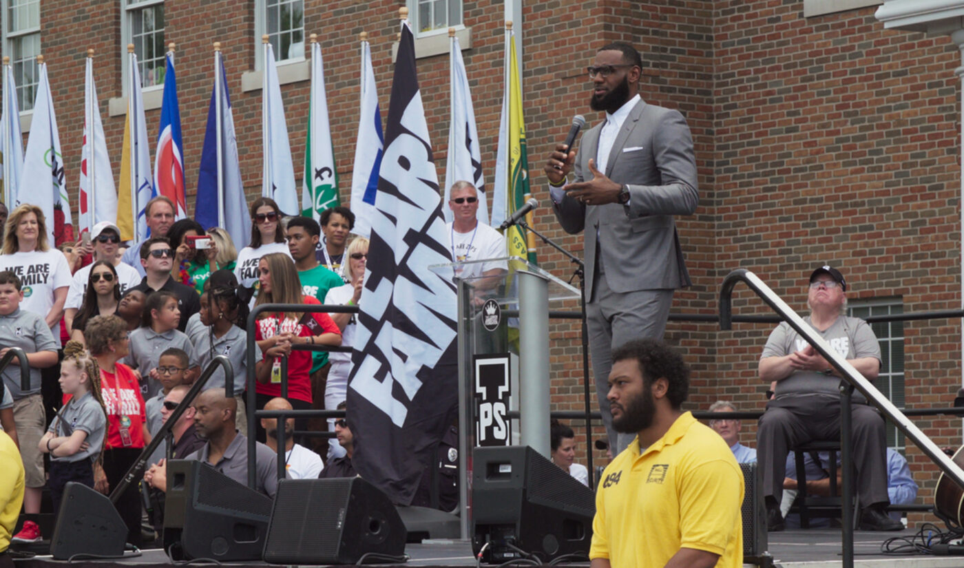 YouTube Picks Up Docufilm About LeBron James' I Promise School