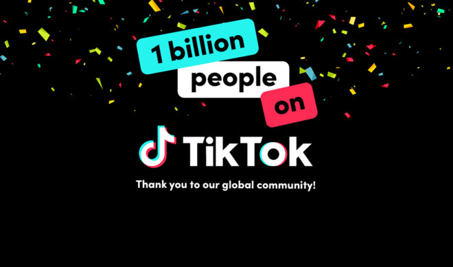 TikTok Says It's Got 1 Billion Monthly Active Users