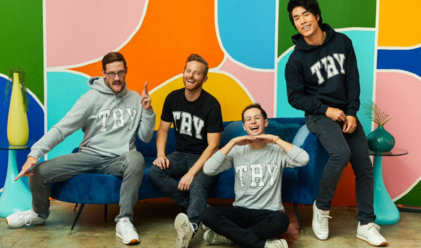 The Try Guys Are Bringing Their Cooking Hijinks To The Food Network