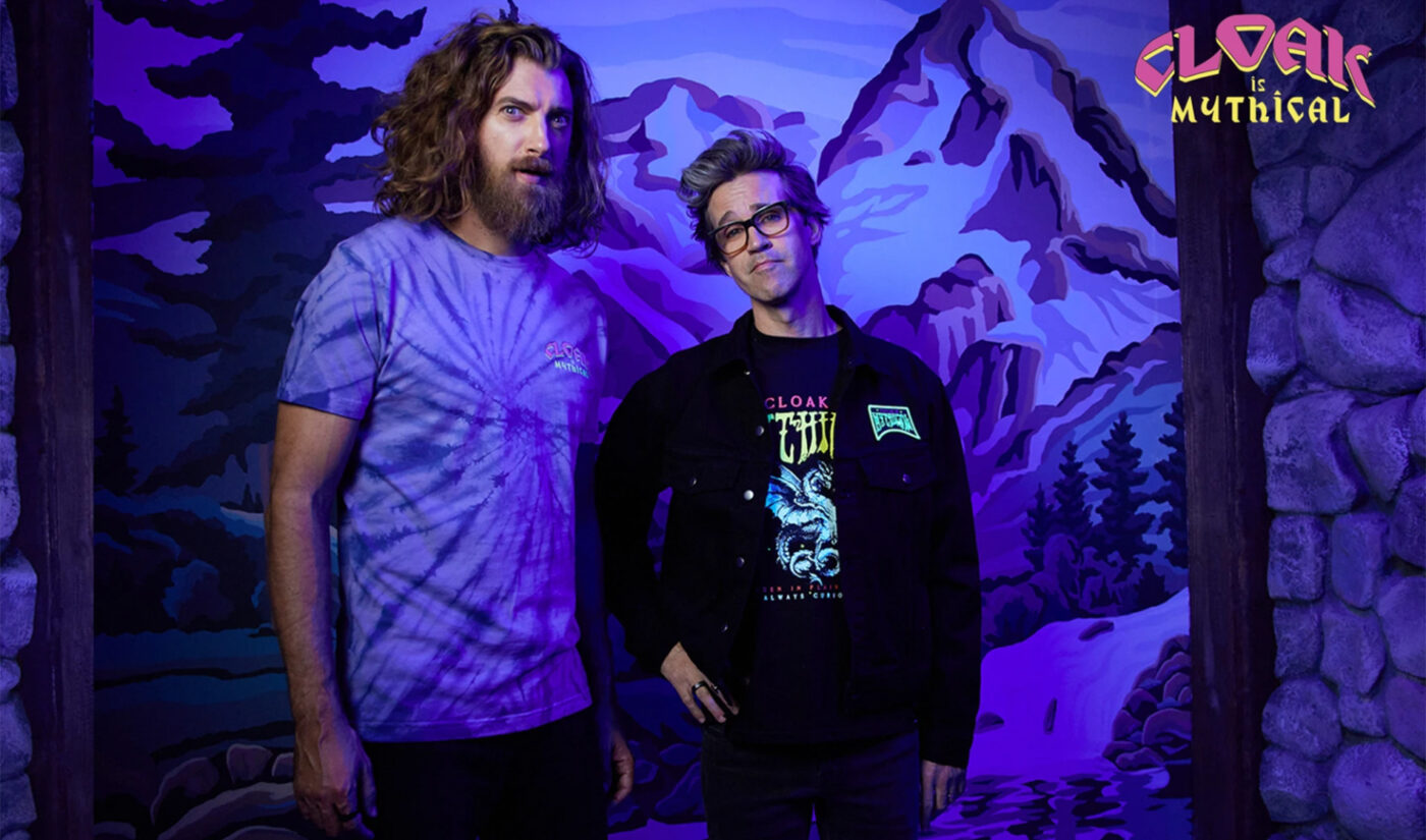 Rhett & Link Roll Out Mythical Clothing Line With Creator-Owned Brand Cloak