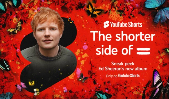 YouTube Teams With Ed Sheeran For Latest 'Shorts' Campaign