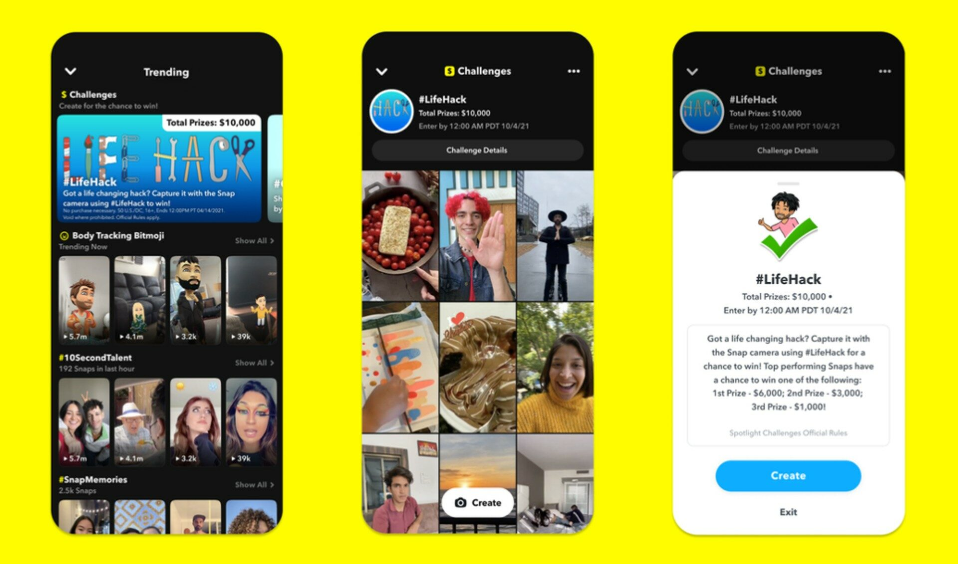 Snapchat Unveils New 'Spotlight Challenges', Touting $25,000 Max Prize Pools