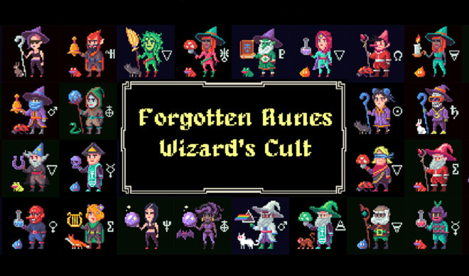 NFT Project 'Forgotten Runes Wizard's Cult' Is Getting A TV Show