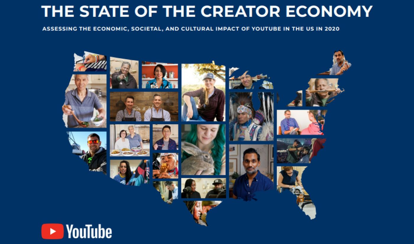 YouTube-Commissioned Study Finds It Contributed $20.5 Billion To U.S. GDP In 2020