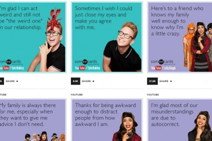 Tyler Oakley, Lilly Singh Get Their Own Digital Greeting Cards From Someecards